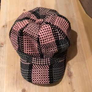 Accessories - Pink Black Gray Cap Hat